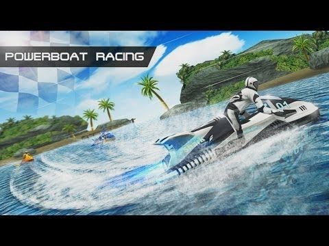 Powerboat Racing 3D Android HD GamePlay Trailer [Game For Kids]