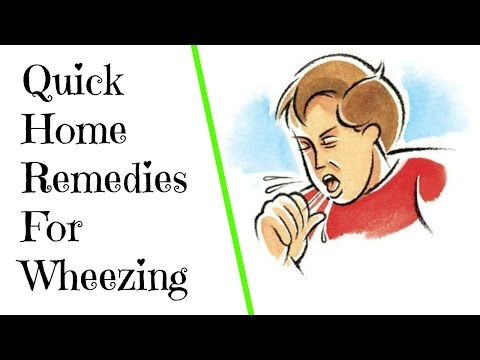 How to stop wheezing fast | Instant relief