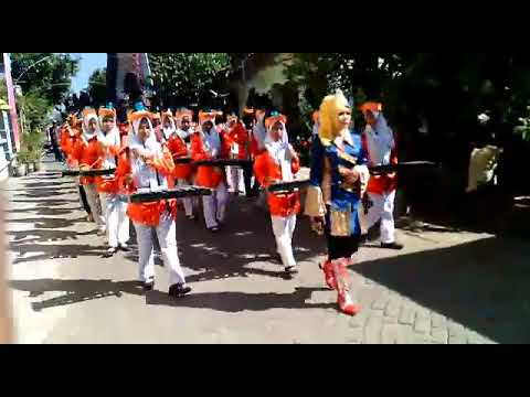 Drumband Surya nada WERU cinta rekayasa