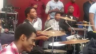 Holy Ghost possess Drummer