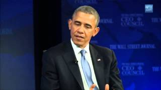 1 Investing in America or Failure  President Obama at the Wall Street Journal CEO Council 2013 2