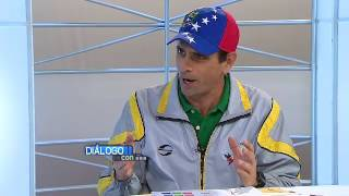 18/06/2016 - Diálogo Con...Henrique Capriles Radonski - Saúl Ortega