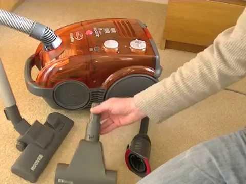 Hoover Dustmanager Bagless Bagged Cylinder Vacuum Cleaner For Sale On Ebay UK
