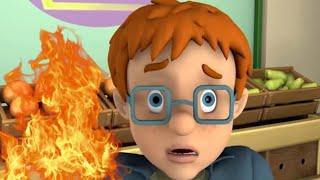 Feuerwehrmann Sam Deutsch ????Neue Folgen ????Sam Antwort ist der Alarm im Supermarkt ????Kinder Cartoons