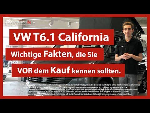 VW T6.1 California Beach Tour Edition Deutsch Test & Fahrzeugvorstellung | Autochampion24