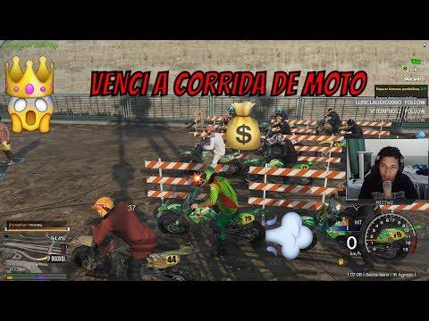 Venci a corrida de moto - FiveM Roleplay GTA V