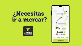 ¿Necesitas ir a mercar? | Pide tu taxi por nuestra App Taxis Libres