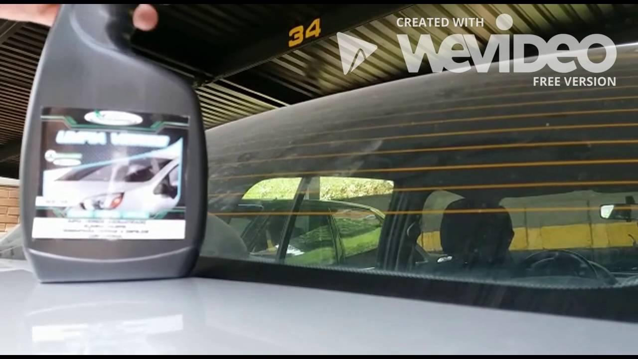 Como limpiar los vidrios de tu auto limpia vidrios ecolavado youtube - Como limpiar los vidrios ...