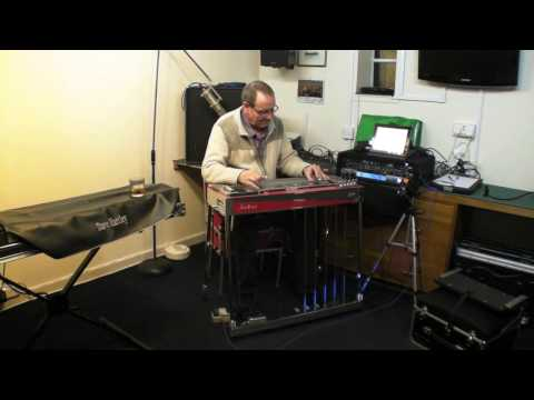 Secret Love by David Hartley on the Justice Steel Guitar