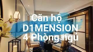 [4k] Căn hộ D1mension 4 phòng ngủ tiêu chuẩn 6 sao