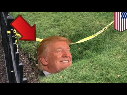 Whitehouse sinkhole: Crevice getting bigger, poses no threat - TomoNews