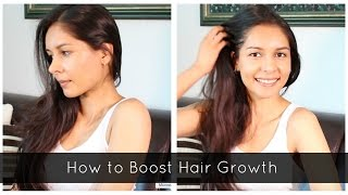 How to Boost Hair Growth