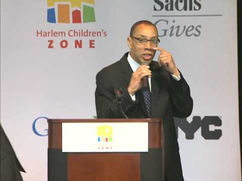 Mayor Bloomberg Speaks at Harlem Children Zone's Promise Academy School