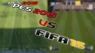PES 2015 Vs FIFA 15 - Gameplay [HD]