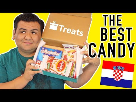 TASTING FOOD FROM CROATIA!!! I AM NOW TRISHA PAYTAS!!!