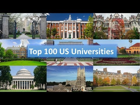 Top 100 US Universities