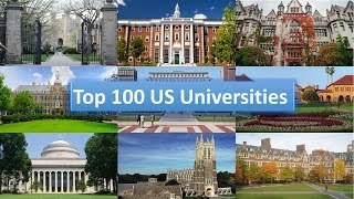 Top 10 Universities - Top 100 US Universities