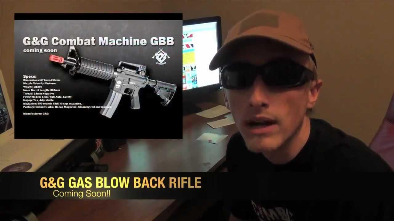 Airsoft News - G&G GBB Rifle, G&P M14 DMR & RedStar AMD-65