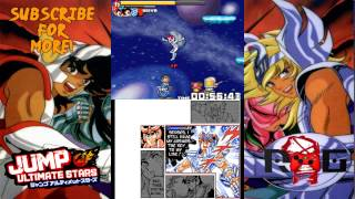 Jump Ultimate Stars (ENGLISH) Part 6 - Saint Seiya