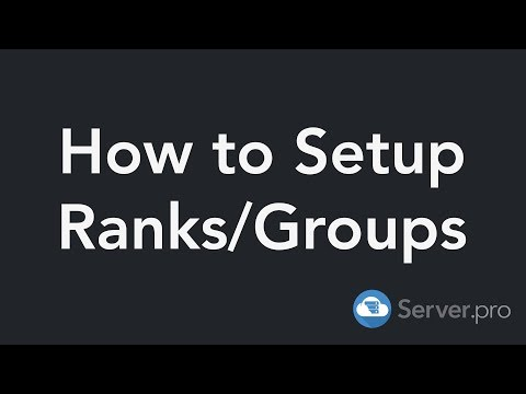 How To Setup Ranks/Groups With LuckPerms Permissions - Minecraft Java