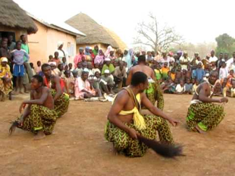 Northern Ghana Village Dancing