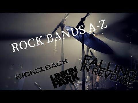 Rock Bands A-Z