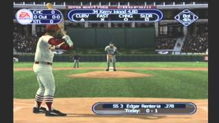 TRIPLE PLAY BASEBALL CUBS VS CARDINALS THIS GAME WAS RELEASED March 2001