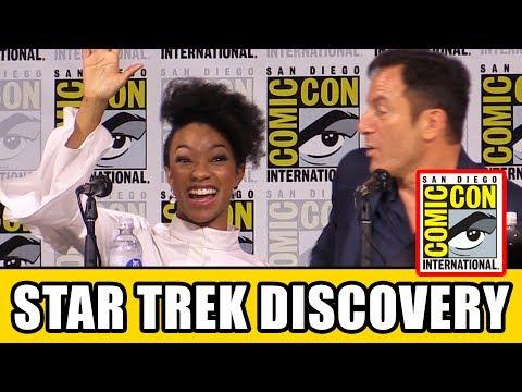 STAR TREK DISCOVERY Comic Con Panel News & Highlights