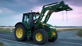 Palas cargadoras frontales - Serie R y M | John Deere ES