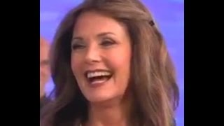 LYNDA CARTER - 60 - (HOTTEST 60 YEAR OLD BABE ON THE PLANET !!! ) - INTERVIEW AND SONG 8-19-11 - VOB