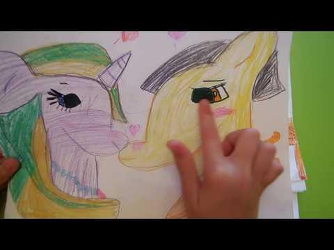 Рисую пони на бумаге Кошмар!!! Мои старые рисунки Не судите строго(((