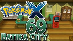 Let's Play Pokemon X Part 69: Die Stadt in der Ferne - Batika City!