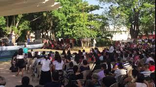 """Crossfire El Salvador  """"Imparable"""" crusade drama in Zacatecaluca Aug 11 2018"""