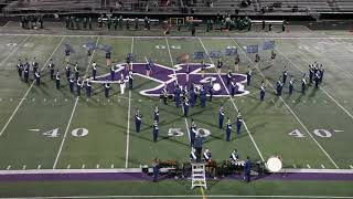 Valley Forge Marching Band Halftime Show vs Holy Name 10/19/2018