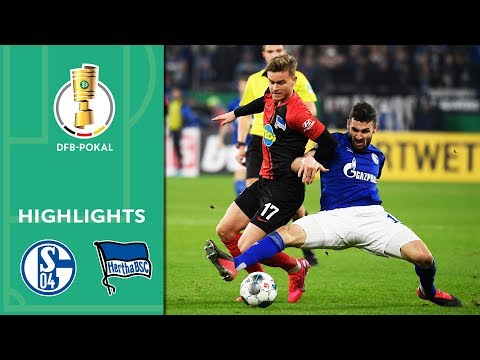 FC Schalke 04 vs. Hertha BSC 3-2 | Highlights | DFB-Pokal 2019/20 | Round of 16