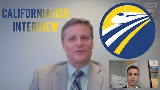 California High-Speed Rail Interview: Scott Jarvis - Chief Engineer