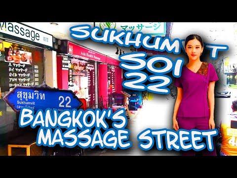 Sukhumvit Soi 22 - Bangkok's Massage Street