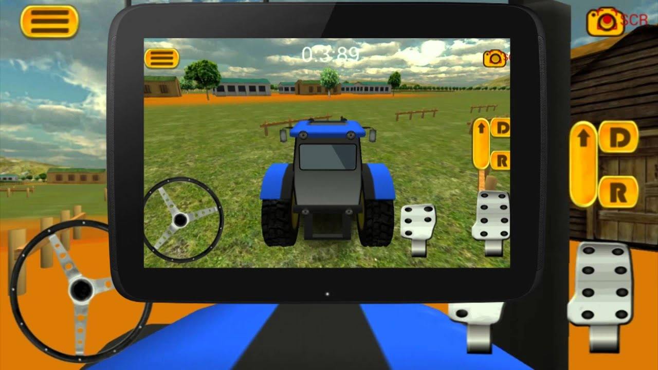 Tractor Parking 3d Farm Driver By Vasco Games Youtube