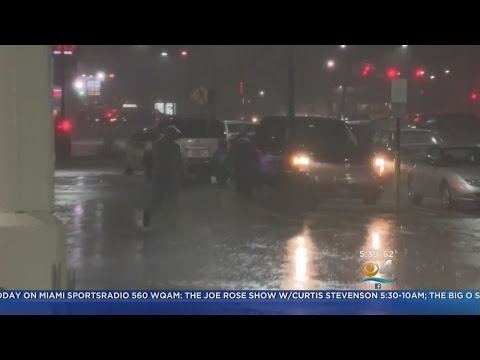 Nor'easter Slams Into Mid-Atlantic States