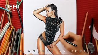 DRAWING DEMI LOVATO #CONFIDENT