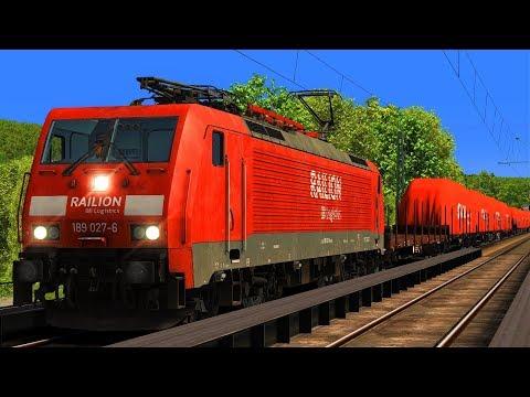 BR189 GZ48662 | Taurus Lokkasten Transport | Konstanz - Immendingen | Train Simulator 2017