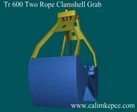 TR600 The Two Rope Clamshell GRABS