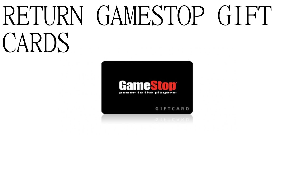 How to Return Gift Cards to GameStop! Captured on Audio! Gecko Guy ...