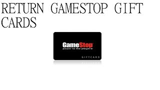 How To Return Gift Cards To Gamestop! Captured On Audio! Gecko Guy