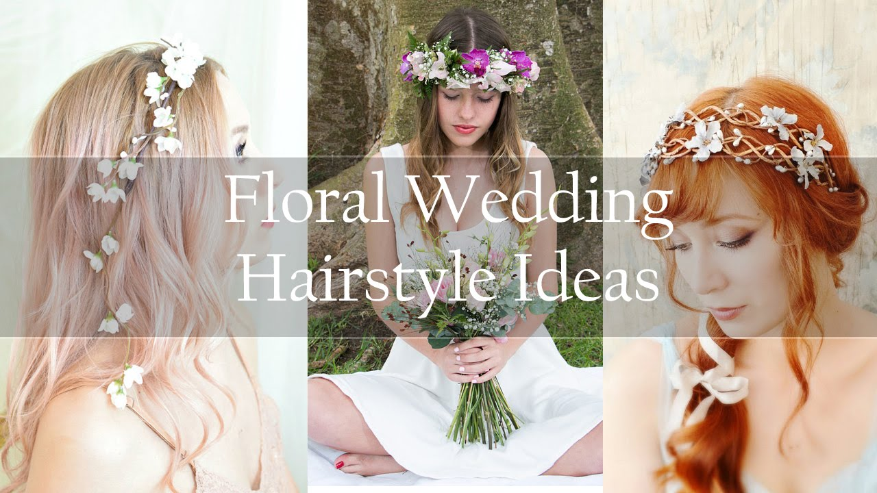 Wedding Hairstyles with Flowers - 10 Ideas For Wedding Hairstyles ...