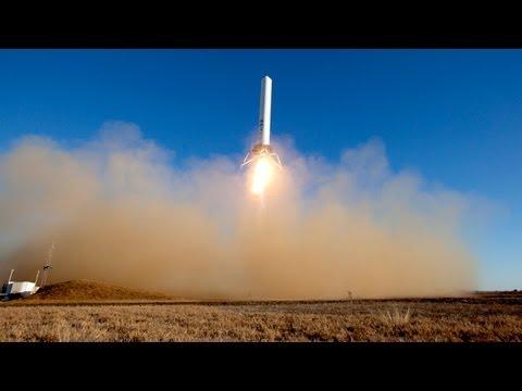 Single Camera: Grasshopper 12-Story Test Flight 12/17/12