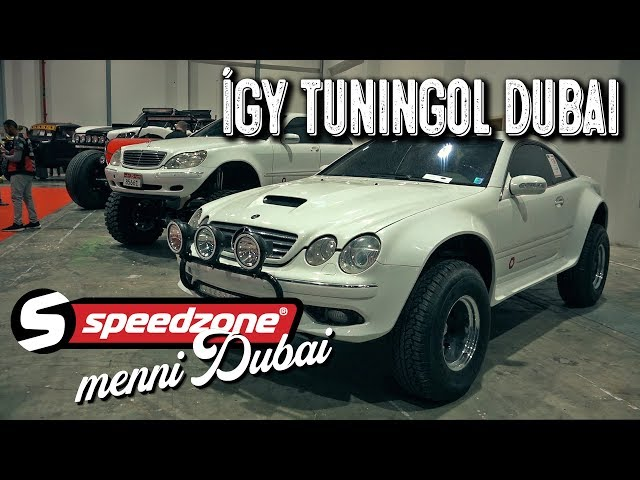 Így tuningol Dubai (Speedzone menni Dubaj S05E05)