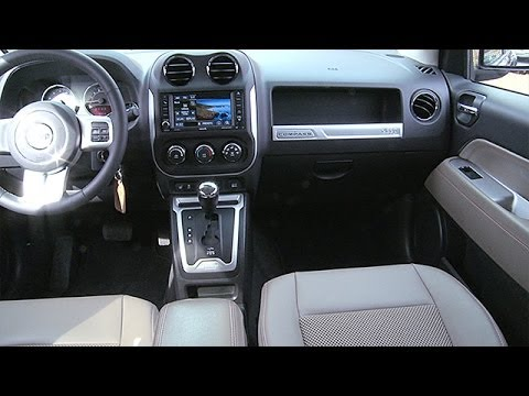 Attractive 2014 Jeep Compass Interior Review   YouTube