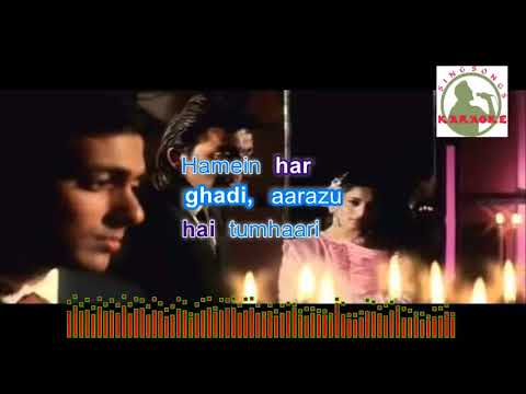 bahut pyar karte hain  hindi karaoke for Male singers with lyrics