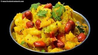 Aloo Ki Sbazi | Sukhi Bhaji Recipe | Quick Dry Potato Snack Recipe.